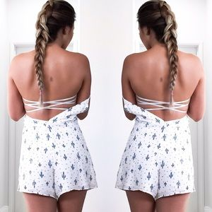 New Lace Strappy Bandeau