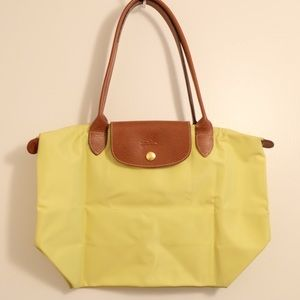 Longchamp – Le Pliage Shoulder Tote (Citrine) ❤️