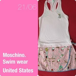 Moschino swim wear cover up