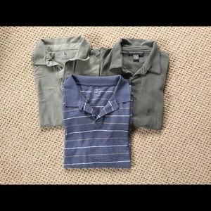 J Crew Other - Men's 3 polo shirts