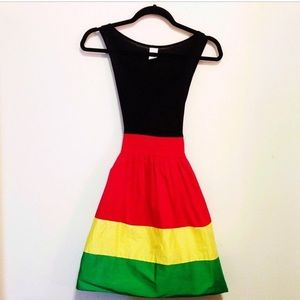 New Rasta Girl Summer Dress