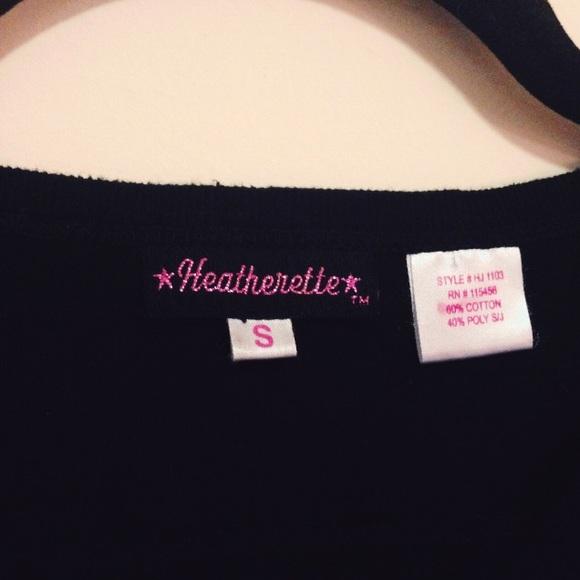 Heatherette Tops - New Heatherette RockStar Lifestyle V Neck