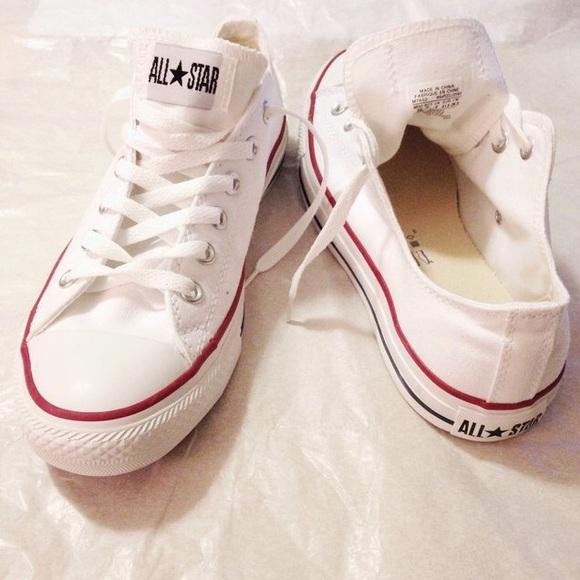 Converse Shoes - White Converse Unisex Chuck OX All Stars