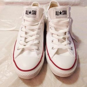 Converse Shoes - White Converse Unisex Chuck OX All Stars
