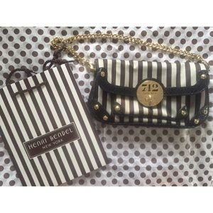 henri bendel Handbags - Henri bendel stripe mini purse
