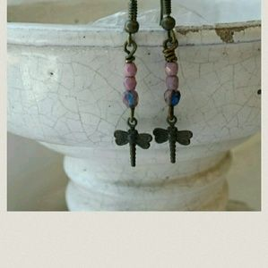Jewelry - Mini-Dragonfly earrings