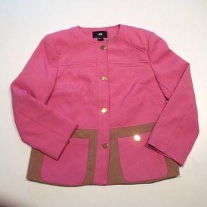 Pink and Brown Blazer / Jacket