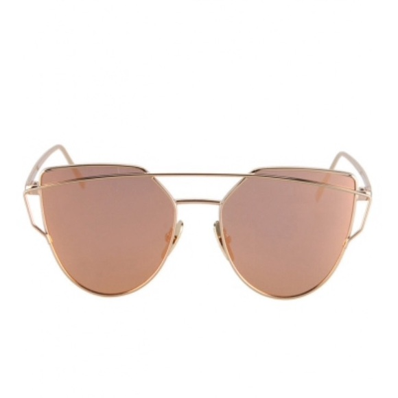 ray ban rose gold aviators. Black Bedroom Furniture Sets. Home Design Ideas