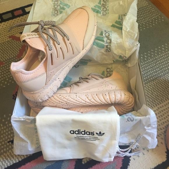 Adidas Tubular Radial Blush Pink