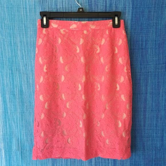 49 h m dresses skirts h m floral lace pencil