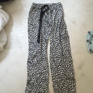 Other - Leopard pajama pants