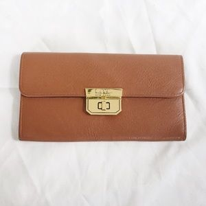 MOVING SALE Tan Nicole Miller wallet