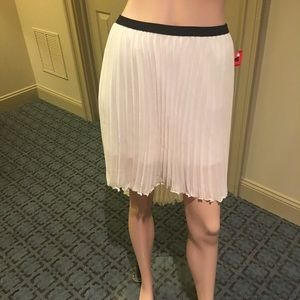 Zara Trafaluc High-low Fanned Skirt