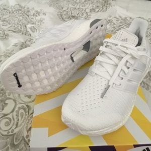 Adidas Ultra Boost 1,0 Hvite Kvinner