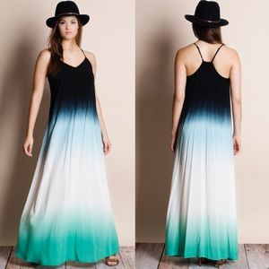 Bare Anthology Dresses & Skirts - Dip Dye Ombré Maxi Dress