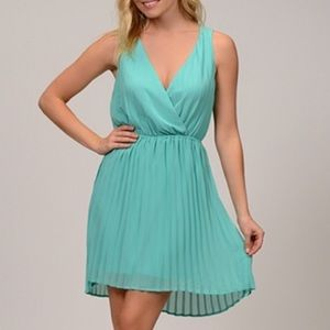 Moon Collection Dresses & Skirts - 🦋SALE🦋 Sheer Pleated Dress