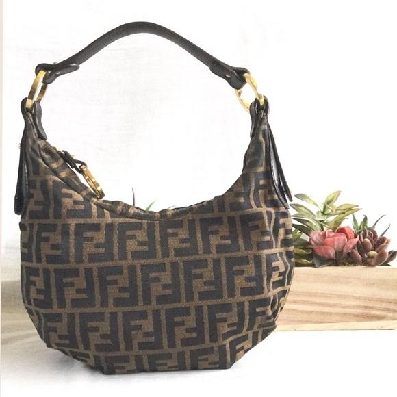 c12d12c0b98b FENDI Handbags - FLASH SALE🌴2X Host Pick🌴Vtg Fendi Zucca Hobo Bag