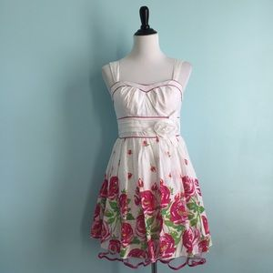 My Michelle Dresses & Skirts - White & Pink Floral Dress
