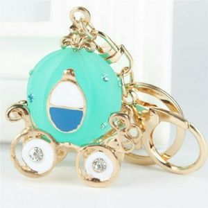 Jewelry - W SALE💟 Carriage car Crystal Bag/purse/key chain