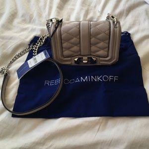 Rebecca Minkoff Mini Love Crossbody, NWT