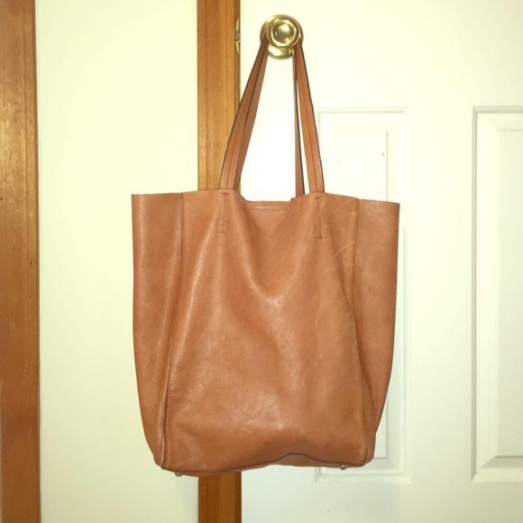 Banana Republic Handbags - Banana republic Ashbury tote cognac 1ed8cdf0fd48f