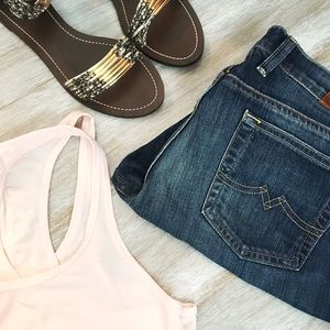 Lucky Brand Pants - Cut-off shorts