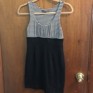 Forever 21 Striped Bodycon Dress - Size Small
