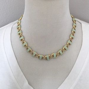 Jewelry - Jade Enamel Necklace