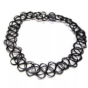 Urban Outfitters Jewelry - Classic Vintage 90's black choker