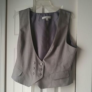 Grey new York and Co vest *Final price*