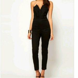 Pants - Chic Black Jumpsuit