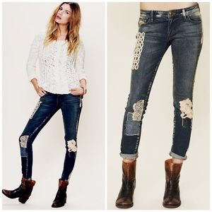 Free People Denim - NWOT Free People x Artisan De Luxe Patchwork Jeans