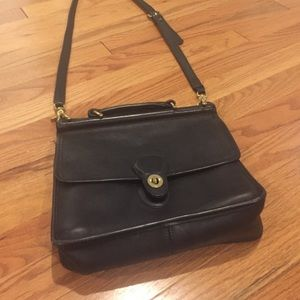 Coach cross body messenger! Vintage