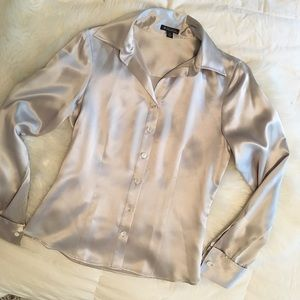 ceae9ceca0462 Brooks Brothers Tops - Brooks Brothers Silk Blouse NWOT