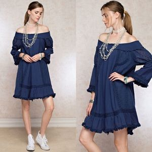 Dresses & Skirts - Off Shoulder Mini Dress