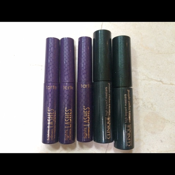 c935eaaed10 tarte Makeup   Clinique Travel Size Mascaras Bundle Pack   Poshmark
