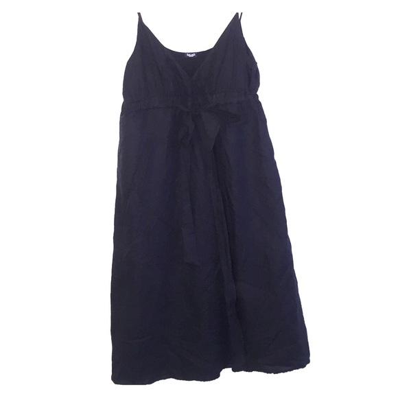 b57fe292741 Splendid - Black linen sundress. M 5769e327eaf0309b000116ab