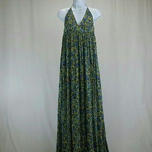 Novella Royale Dresses & Skirts - Novella Royale Blue Rose Women's Maxi Dress - NWT