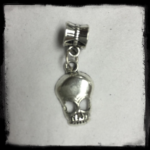 boutique cool skull charm pandora dupe from suggested