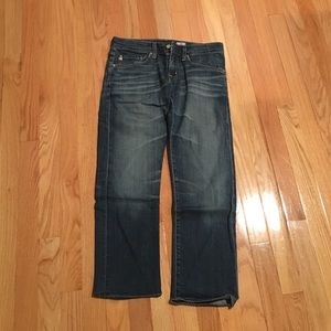 AG Adriano Goldschmied cropped Ex-BF jeans