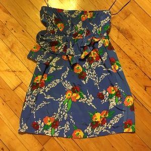 Yumi Kim silk floral print dress