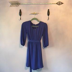 Dresses & Skirts - Long Sleeve Royal Blue Dress