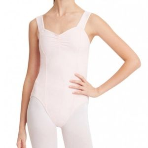 Capezio Other - New Capezio Women's Pinch Front Leotard - Large