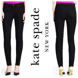 kate spade Denim - NEW!  Kate Spade Broome street skinny jeans-black