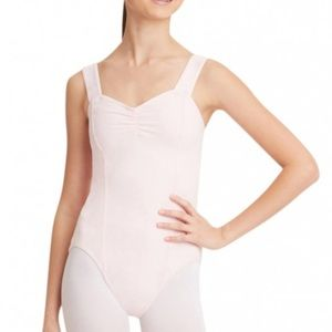 Capezio Other - New Capezio Women's Pinch Front Leotard - XLarge