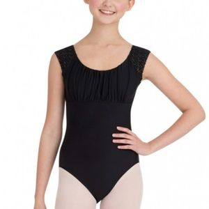 Capezio Other - New Capezio Women's Cap Sleeve Leotard - Large