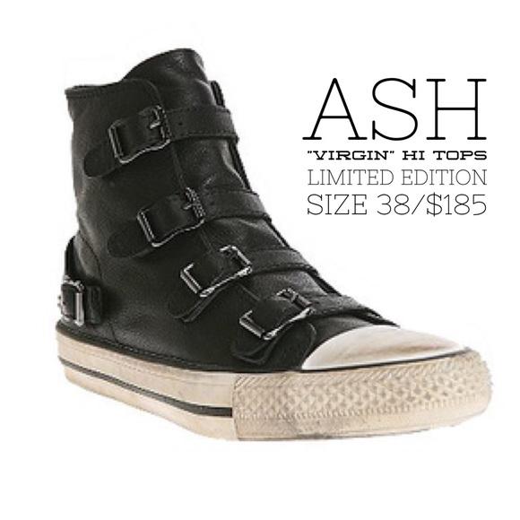 Virgin hi-top sneakers - Black Ash sCVO7S56