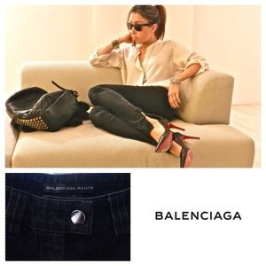 Balenciaga Denim - NEW!  Authentic Balenciaga ankle-zip crop jeans