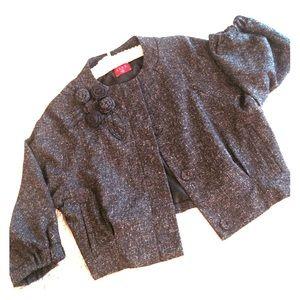 BOGO! Elle heather crop liteweight jacket, corsage