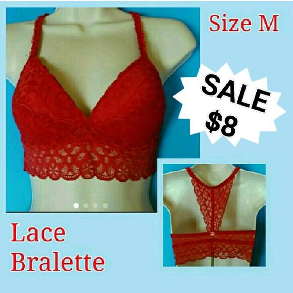 38100d6064 NWT Lace Bralette Non-Wire Size M. NWT. Secret Possessions